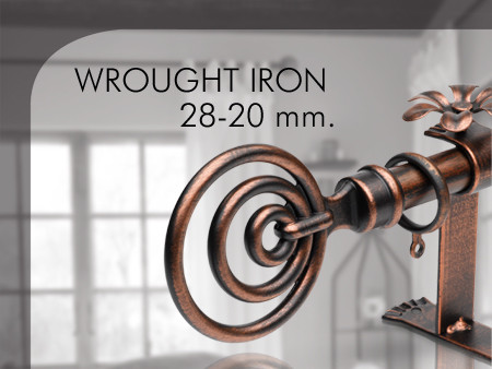 Wrought Iron 28 - 20 mm