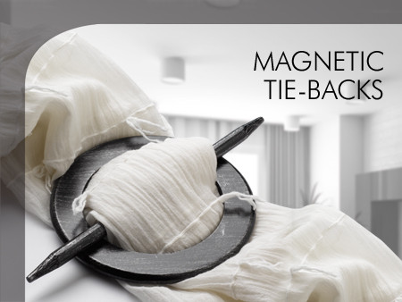 Magnetic Tie-Backs